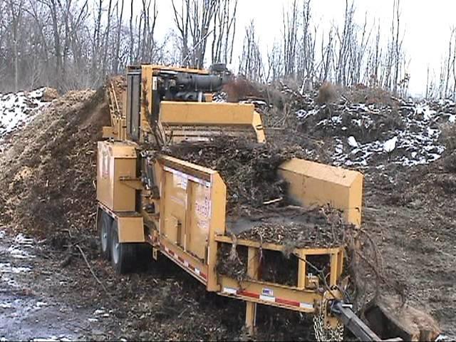 Измельчитель дерева в Крыму